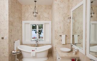 Как выбрать люстру и светильники для ванной комнаты