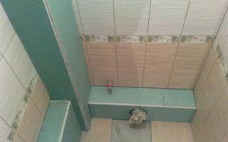 Как сделать в ванной короб из гипсокартона