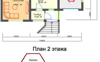 Проект дома для небольшого участка