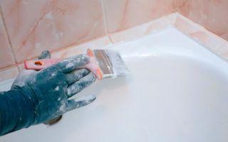 Эмалировка ванны акрилом своими руками
