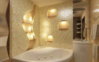 Установка правильного освещения в ванной