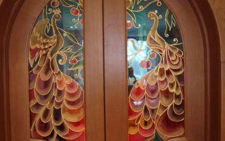 Декорирование стекла своими руками