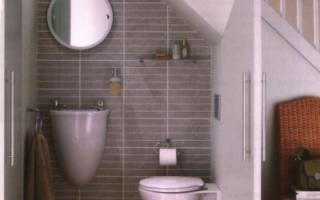 Обустройство ванной комнаты на даче
