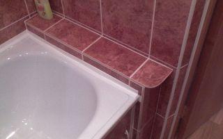 Щель между ванной и стеной — самые простые и эффективные способы заделки зазора