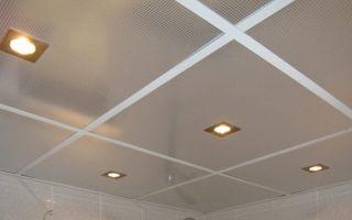 Варианты подвесных потолков в ванной комнате