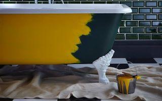 Чем покрасить ванну внутри чтобы восстановить белоснежное покрытие