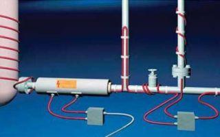 Как спасти трубопровод от промерзания