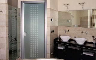 Выбор двери для ванной комнаты