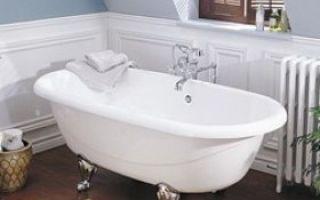 Ремонтируем чугунную ванну