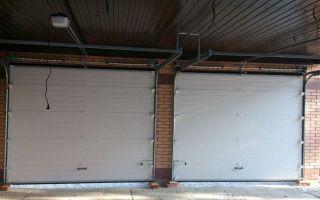 Как выбрать и установить секционные ворота на гараж