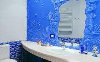 Штукатурка для ванной комнаты: какая смесь подойдет для влажного помещения