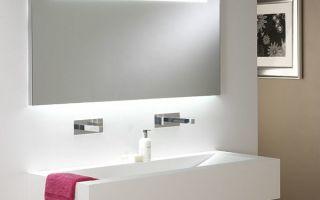 На что обратить внимание при выборе зеркала для ванной комнаты