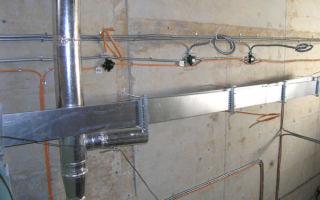 Монтаж электрики в сауне и ванной комнате
