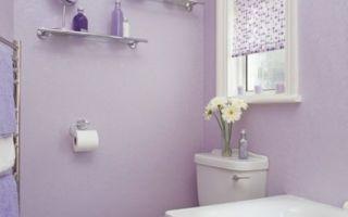 Способы отделки стен в ванной