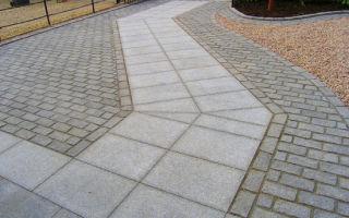 Как выбрать гранитную тротуарную плитку