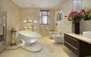Как выбрать напольное покрытие для ванной