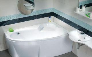 Выбор и установка угловой ванны