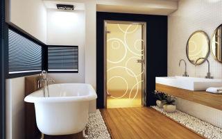 Как определить размер санузловой дверной системы