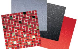 Виды керамической плитки