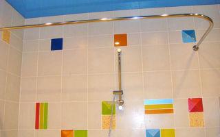 Как выбрать и установить карниз для ванной