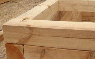 Как построить баню из бруса своими руками