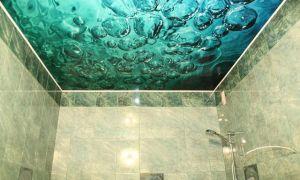 Натяжные потолки в ванной: плюсы и минусы