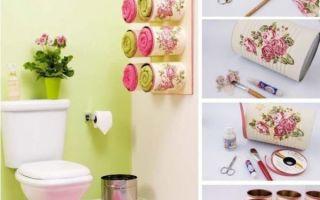 Быстрые способы обновить интерьер ванной комнаты