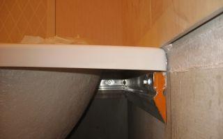Крепление ванны к стене — варианты крепления для различных ванных