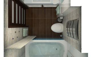 Разумное использование пространства в ванной комнате