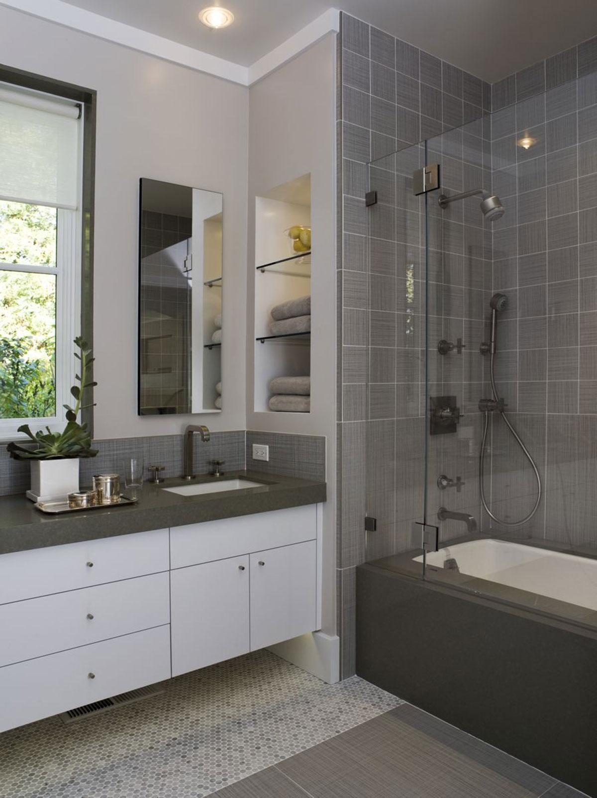 Дизайнерские решения ванных комнат фото