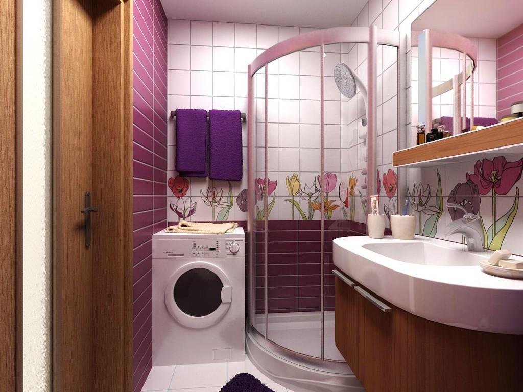 Дизайн маленькой ванной комнаты в хрущевке с