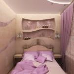 Дизайн маленькой спальни (20)