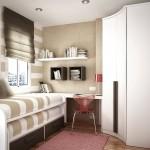 Дизайн маленькой спальни (26)