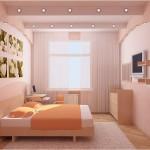 Дизайн маленькой спальни (32)