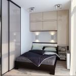 Дизайн маленькой спальни (39)