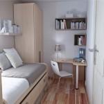 Дизайн маленькой спальни (40)