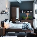 Дизайн маленькой спальни (41)