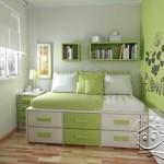 Дизайн маленькой спальни (43)