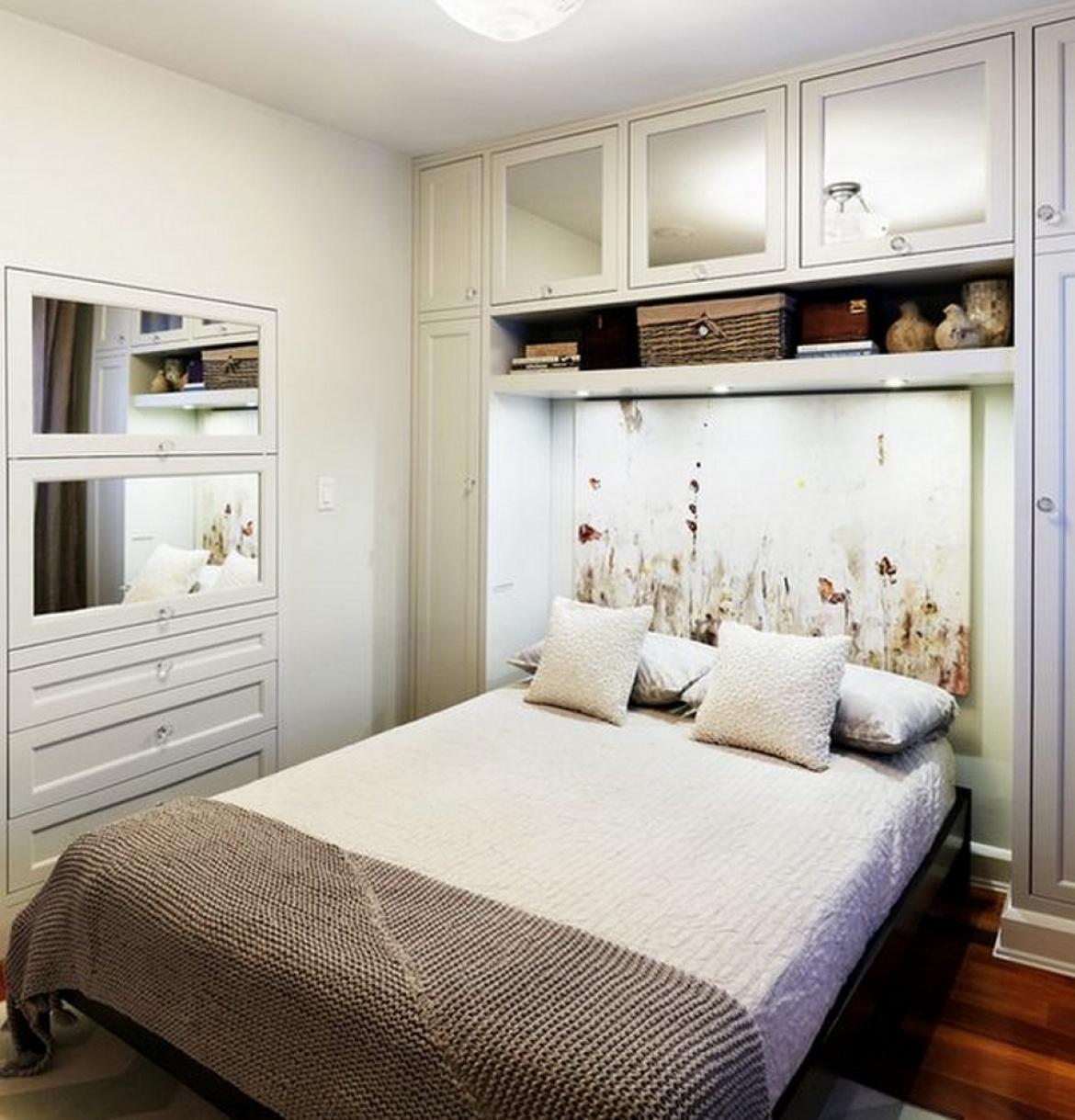 Маленькая спальня без окон дизайн