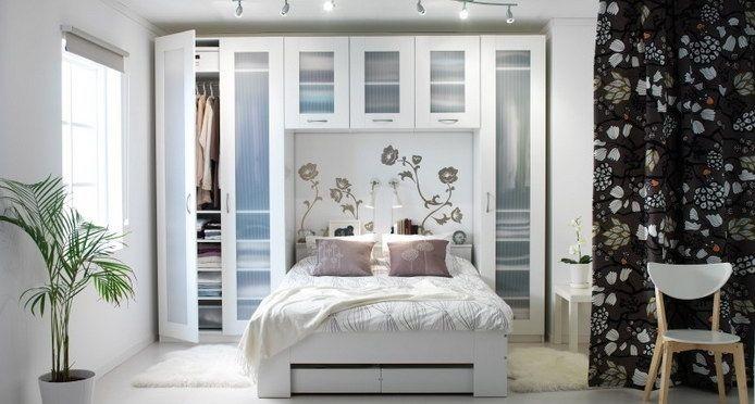 Дизайн интерьера для маленькой спальни