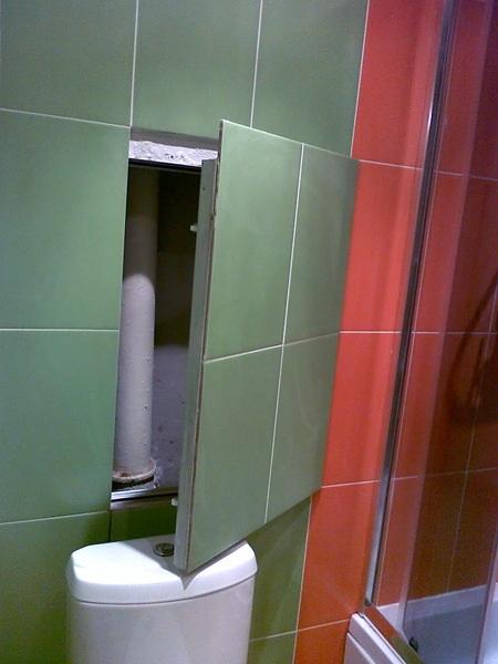Спрятать трубы в ванной своими руками