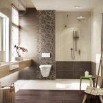 Керамическая плитка для ванной - фото (10)