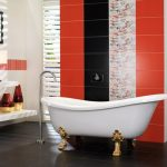 Керамическая плитка для ванной - фото (100)