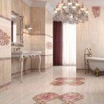 Керамическая плитка для ванной - фото (105)