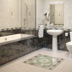 Керамическая плитка для ванной - фото (106)