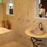 Керамическая плитка для ванной - фото (17)