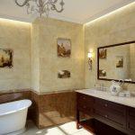 Керамическая плитка для ванной - фото (18)