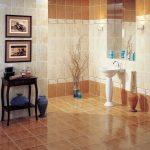 Керамическая плитка для ванной - фото (19)