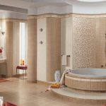 Керамическая плитка для ванной - фото (24)