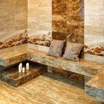 Керамическая плитка для ванной - фото (26)